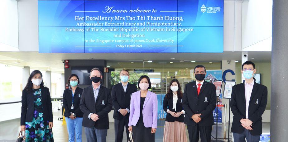 Vietnamese Ambassador visit