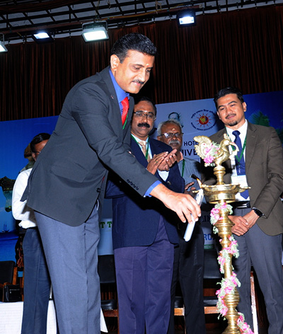 """Professor Abhishek Bhati at the International Conference on """"Recent Trends on Global Sustainable Tourism and Hospitality Research"""""""