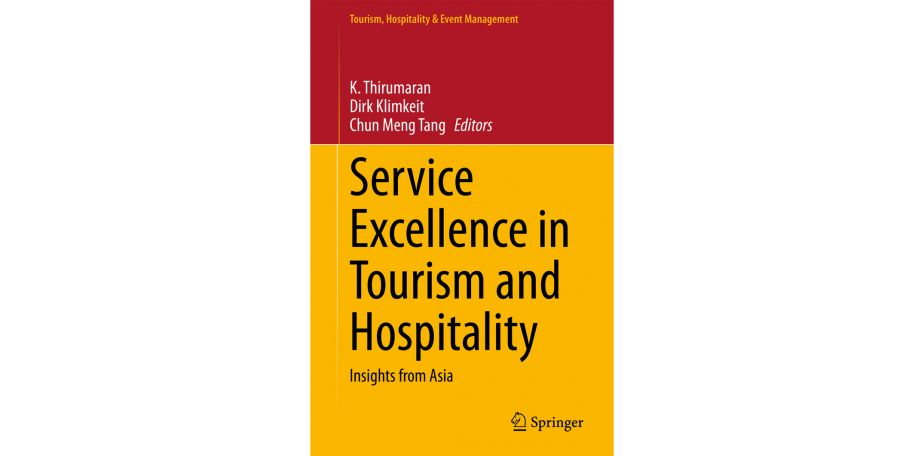 Book launch: Service Excellence in Tourism and Hospitality