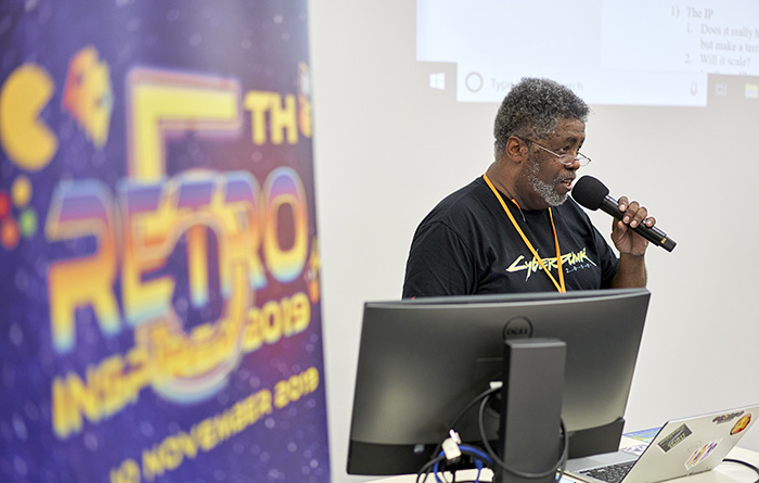 Mike Pondsmith at Retro Inspired 2019