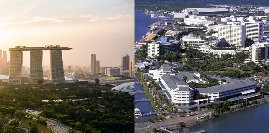 Urban Design and Economic Growth: An Analytical Tale of Two Tropical Cities
