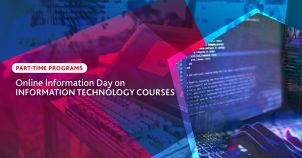 Online Information Day for Information Technology Courses - Part-Time  image