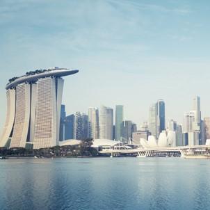 Singapore - MBS Skyline