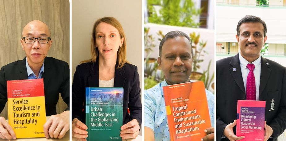 JCU research efforts through published books