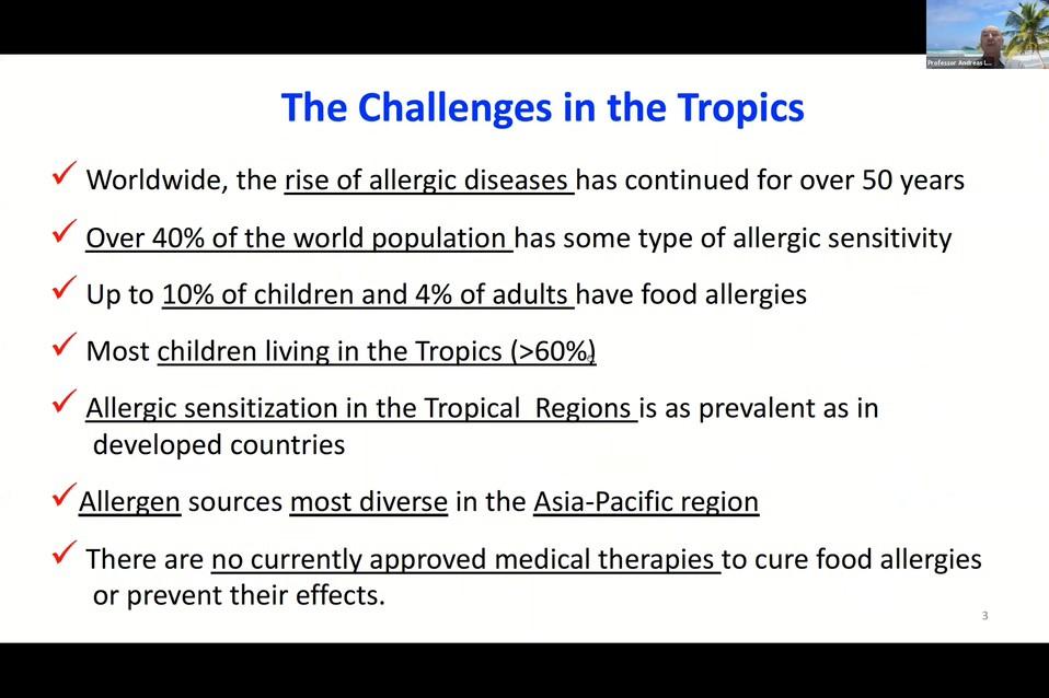 challenges in tropics