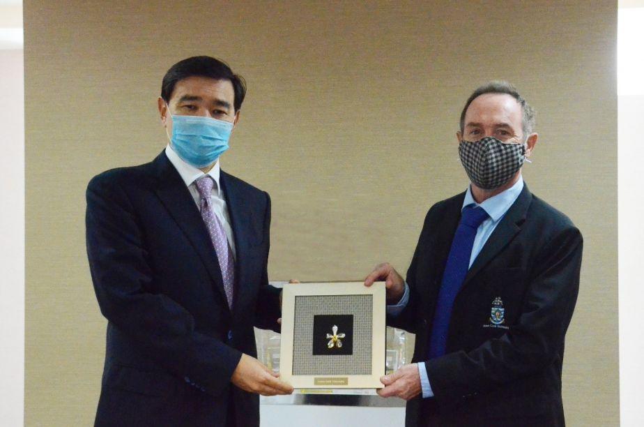 Kazakhstan Ambassador Visit to JCUS